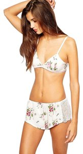Wildfox Lover's Bouquet Bralette & Short Pajama Boxed Set