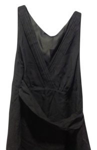 The Limited Empire Waist With Tags Wrap Around Tie. Top Gray