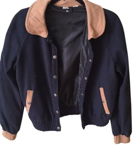 BDG Urban Outfitters Vasity Navy Blue Jacket