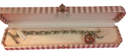 Juicy Couture BEAUTIFUL JUICY COUTURE BEAUTIFUL SILVER HEART STARTER CHARM BRACELET!!!