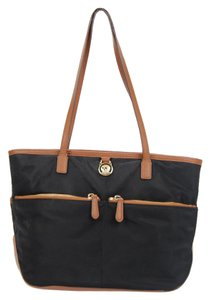 Michael Kors Mk Nylon Kempton Tote in Black