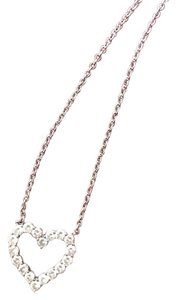 K jewerly Diamond heart shape necklace