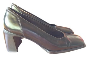 Goffredo Fantini Pump Brown Black Equador Caffe Pumps
