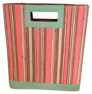Other Brown And Green And Pink Beach Bag