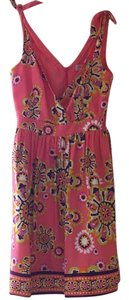 Trina Turk short dress Coral, purple, orange, green, white on Tradesy