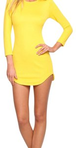 Hello Molly short dress Yellow on Tradesy
