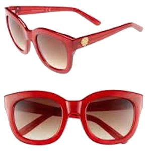 Vince Camuto VINCE CAMUTO RED LARGE SUNGLASSES
