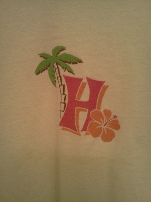 Love Sick Hawaii T Shirt White