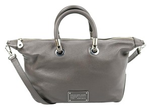 Marc by Marc Jacobs Leather Satchel in Gray