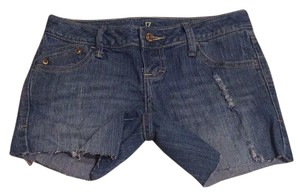 ZCo. Cut Off Shorts Blue