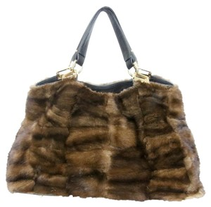 Paolo Masi Lambskin Purse Graffiti Jumbo Shoulder Bag