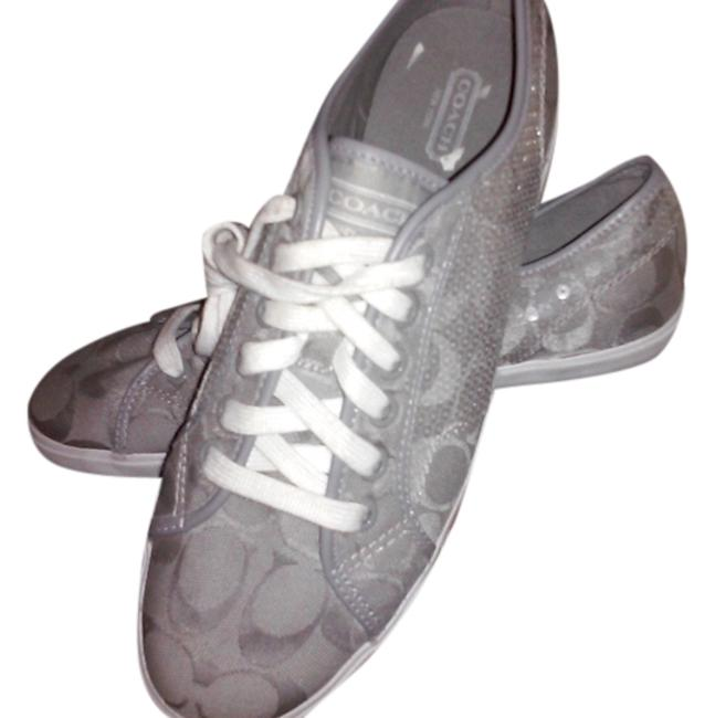 Item - Lavender/Grey Sneakers Size US 9 Regular (M, B)