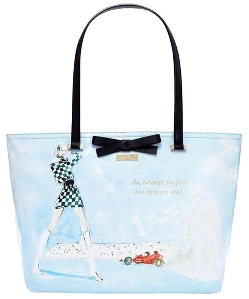 Kate Spade Summer Tote In Photo Finish Francis