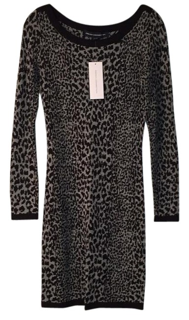 Preload https://img-static.tradesy.com/item/15795733/french-connection-leopard-jacquard-sweater-new-knee-length-short-casual-dress-size-6-s-0-1-650-650.jpg
