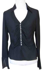 Anne Klein Silk Top black