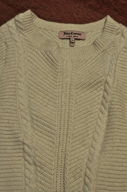 Juicy Couture Soft Warm Knit Cabled Stretchy Sweater