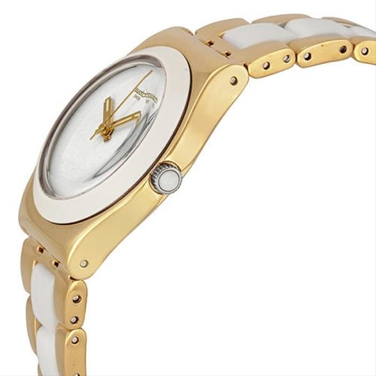 Swatch Swatch Female Dress Watch YLG122G White Analog