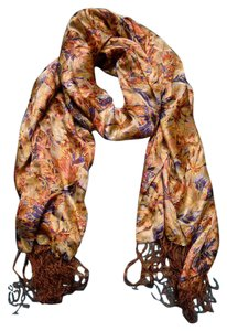Other Printed Fringe Scarf One Size