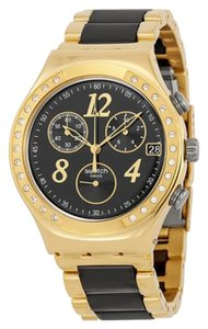 Swatch Swatch Female Dress Watch YCG405G Two-Tone Analog