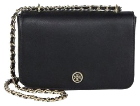 Preload https://img-static.tradesy.com/item/15796117/tory-burch-robinson-adjustable-black-leather-shoulder-bag-0-1-540-540.jpg
