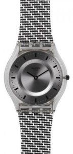 Swatch Swatch Female Fashion Watch SFM127 Grey Analog