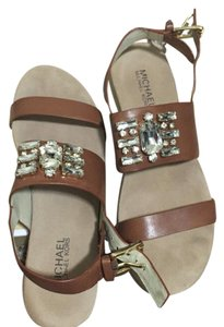 MICHAEL Michael Kors Tan Brown Sandals