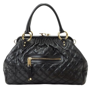 Marc Jacobs Made In Italy Satchel in black