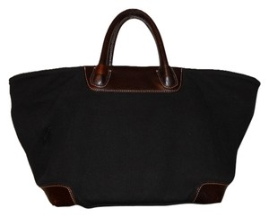 Levenger Tote in black & brown