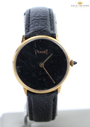 Preload https://img-static.tradesy.com/item/15796822/piaget-black-gold-plated-vintage-18kt-electro-watch-0-2-540-540.jpg