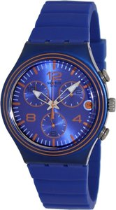 Swatch Swatch Male Fashion Watch YCN4009 Blue Analog