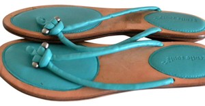 Gentle Souls Teal Sandals