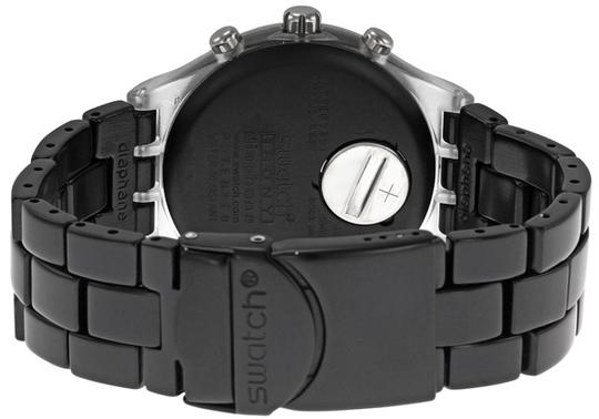 Swatch Swatch Unisex Full-Blooded Watch SVCK4035AG Black Analog