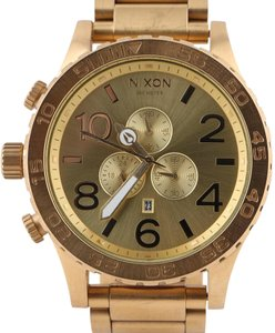 Nixon Nixon 51-30 Chrono Watch - All Gold