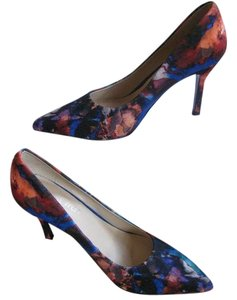 Nine West Pointy Toe Blue / Multi Pumps