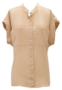 CAbi Top Tan; Beige