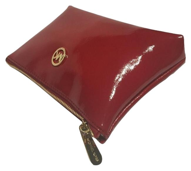 Item - Red Fulton Travel Case Patent Leather 35fgftm4a Cosmetic Bag