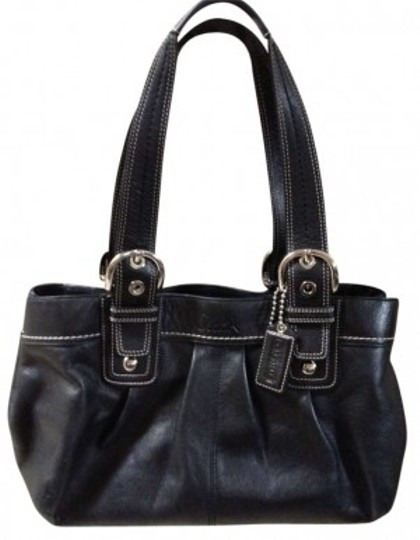 Preload https://item5.tradesy.com/images/coach-b1051-f13732-black-leather-tote-157979-0-0.jpg?width=440&height=440