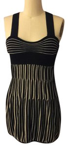 A|X Armani Exchange short dress Black and white on Tradesy