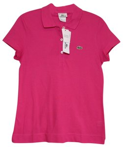 Lacoste Polo Top Pink