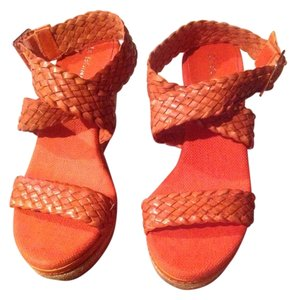 BCBGeneration Burnt Orange Wedges