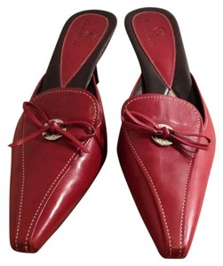 Cole Haan Cclog Summer Burgundy Mules