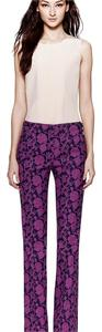 Tory Burch Wide Leg Pants Fushia print