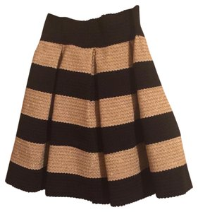 Xhilaration Mini Skirt Black, white, gold