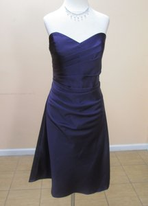 Alfred Angelo Eggplant 7041s Dress