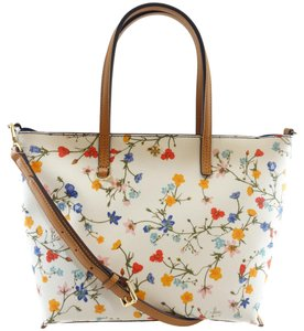 Tory Burch Kerrington Small Tote in New Ivory Delphi