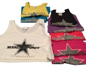Newport News Gym Crop Workout Bundle Top Variety