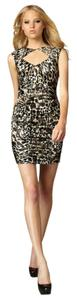 Nanette Lepore Animal Print Date Dress