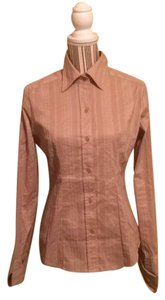 New York & Company Top Tan
