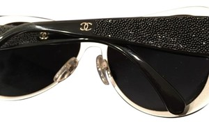 Chanel Chanel Beaded Aviator Sunglasses