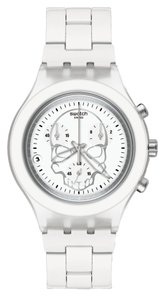 Swatch Swatch Unisex Full-Blooded Watch SVCW4000AG White Analog